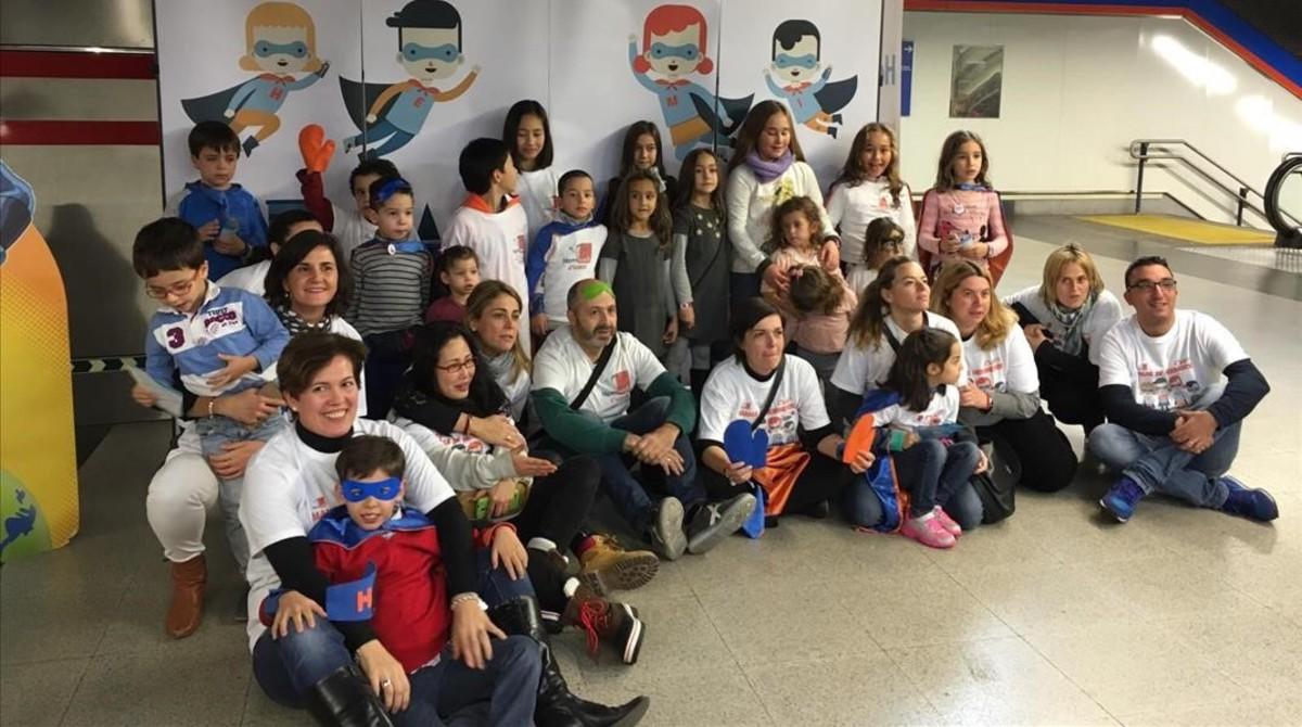 Acto de la Asociación de Hemiparesia Infantil.