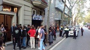 El bloque Llavors de la calle de Lleida, en Barcelona.