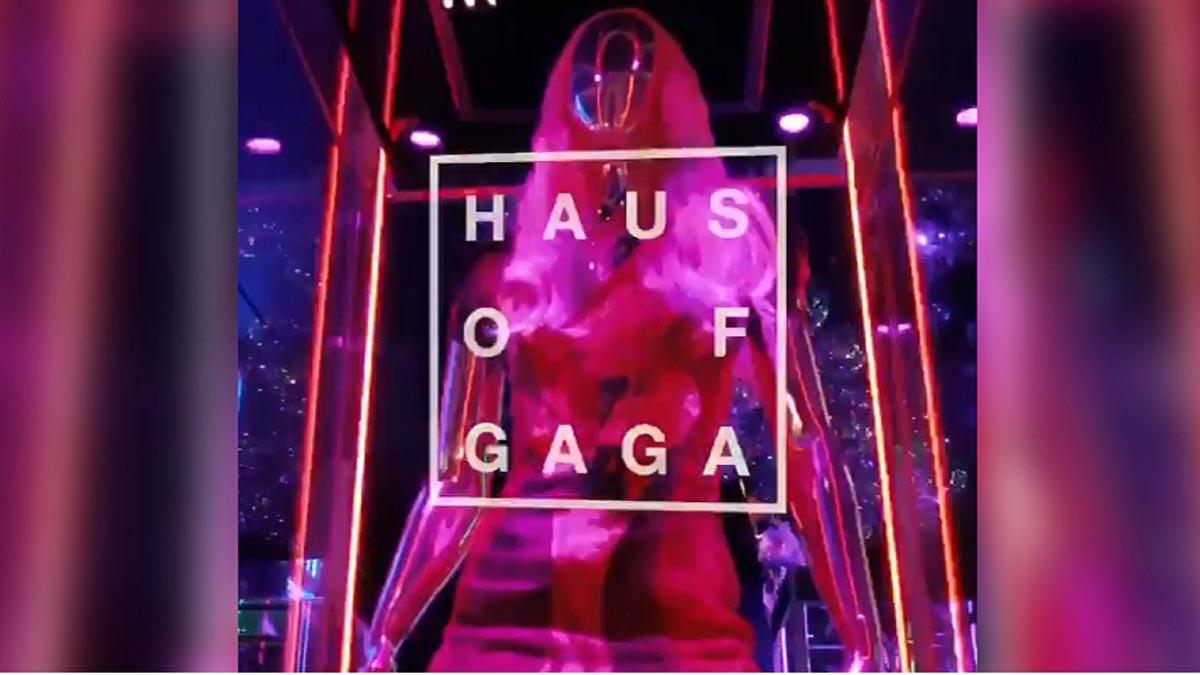 Lady Gaga abre tienda en Las Vegas.