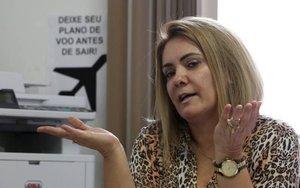 Ana Cristina Siqueira Valle, expareja de Jair Bolsonaro.