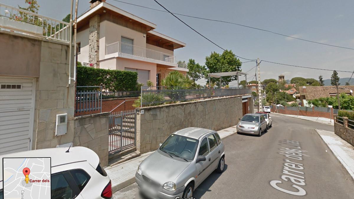 Calle Lilàs, en Sant Boi de Llobregat.
