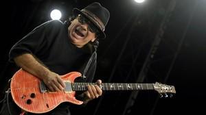 Santana, el chamán en Cap Roig