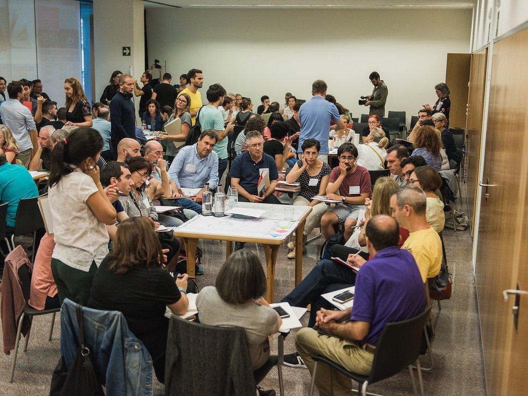 El Cèntric Espai Cultural del Prat de Llobregat en la sesión del del Plan director urbanístico metropolitano (PDU).