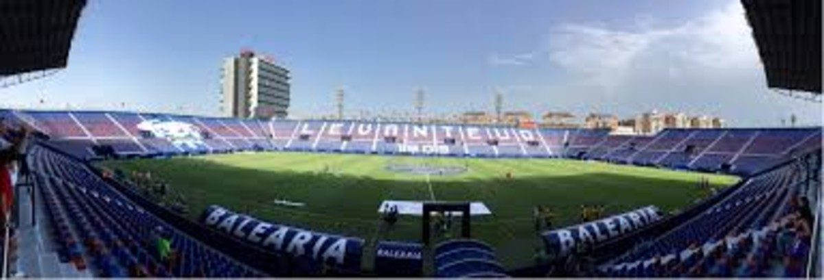 Estadio Ciutat de València.