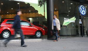 Concesionario de VW en Barcelona.