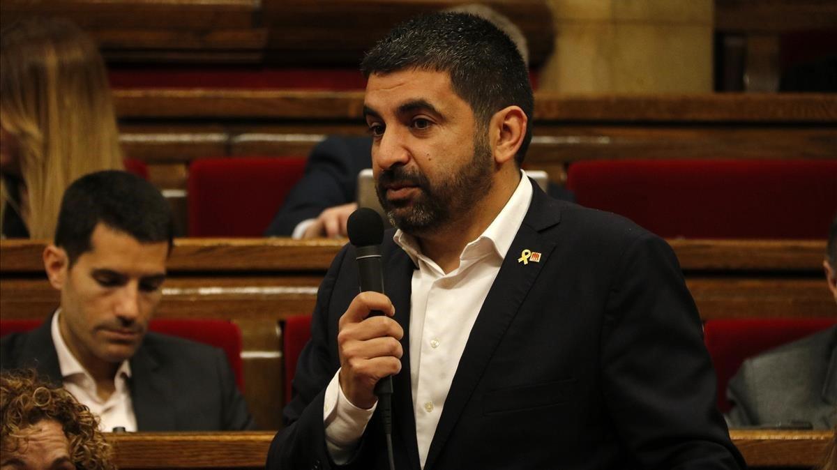 El conseller Chakir El Homrani, en una imagen de archivo.