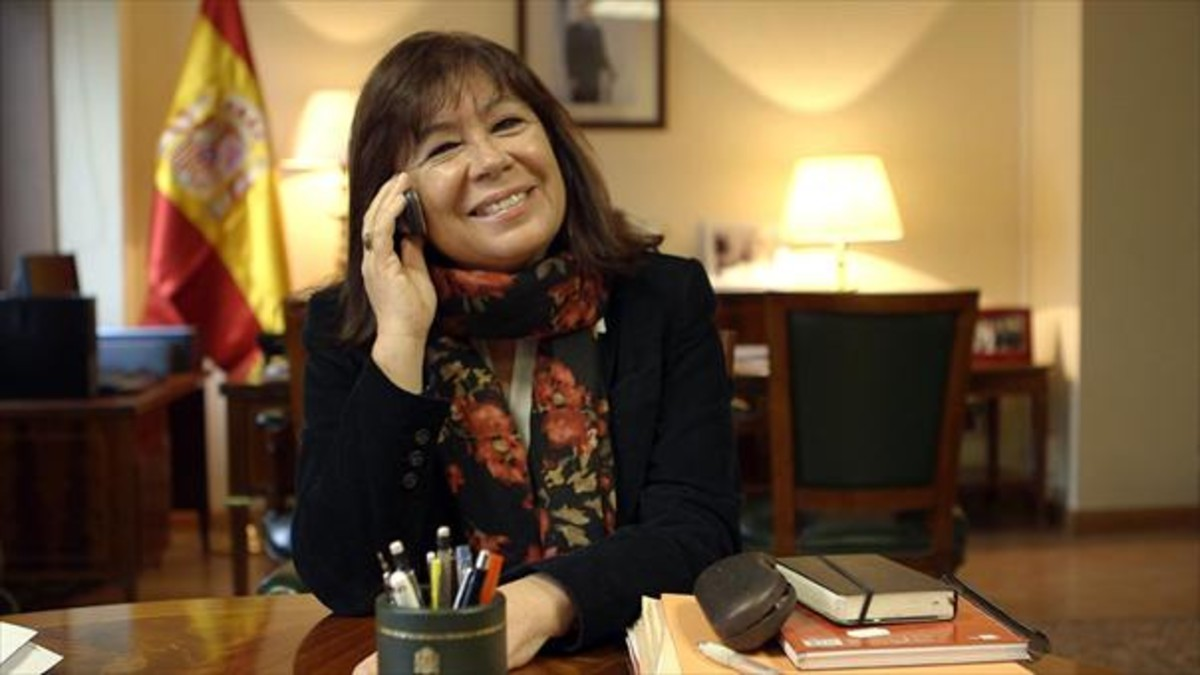 Cristina Narbona, en una imagen de archivo.
