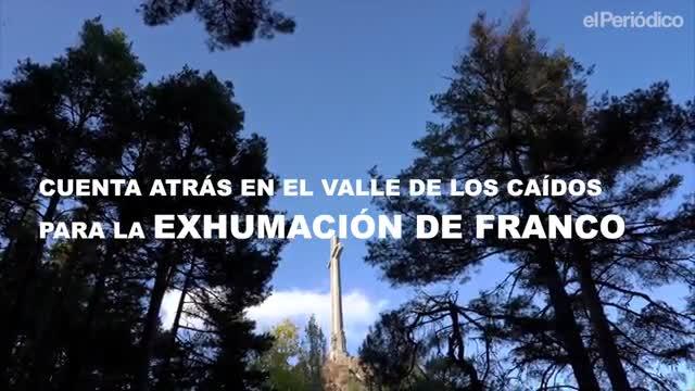 Cuenta atrás en el Valle de los Caídos. Los últimos recursos contra la exhumación de Franco y la protesta de los familiares de republicanos enterrados en el monumento.
