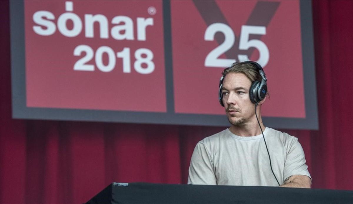 DJ Diplo en el Sónar Village.