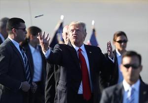 Donald Trump, en un acto en Palm Beach el pasado viernes.
