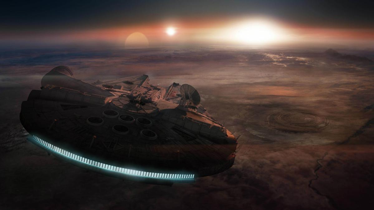 Escena de 'Star Wars: Los últimos Jedi'.