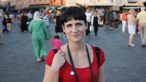 La escritora valenciana Elisa Ferrer