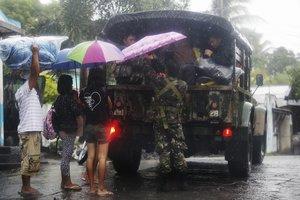 Unas 5.000 personas han sido evacuadas en el norte de Filipinas.