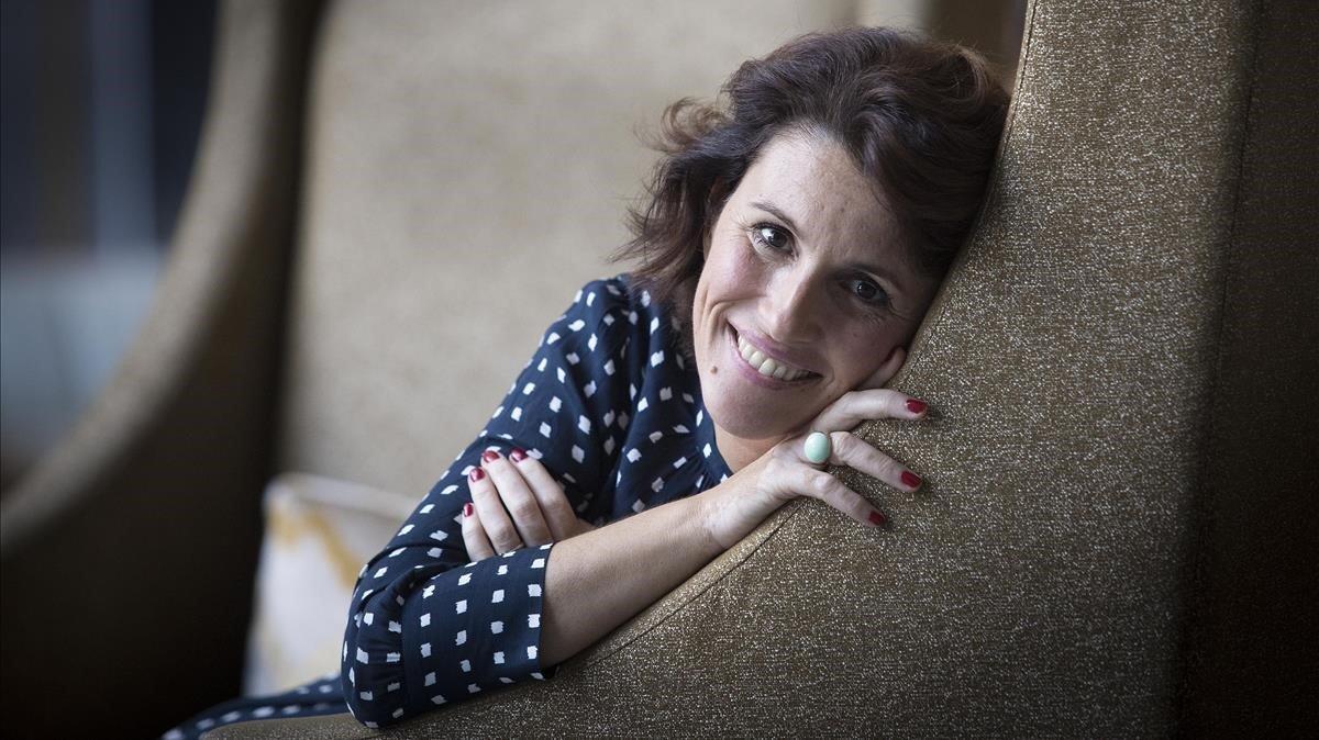 La finalista del Planeta, Ayanta Barilli.