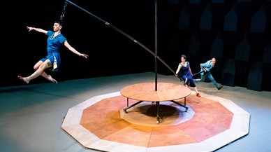 Mumusic presenta 'Flou papagayo', circo con humor y acrobacias