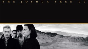Fragmento de la portada del álbum The Joshua Tree.