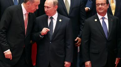 Los líderes de un mundo convulso buscan rebajar tensiones con una maratón de reuniones bilaterales en el G20