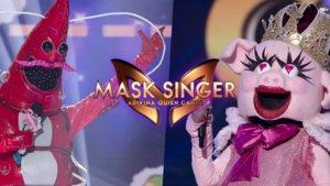 Gamba y Cerdita en 'Mask Singer: Adivina quién canta'.