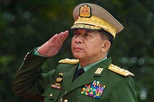 GeneralAung Min Hlaing.