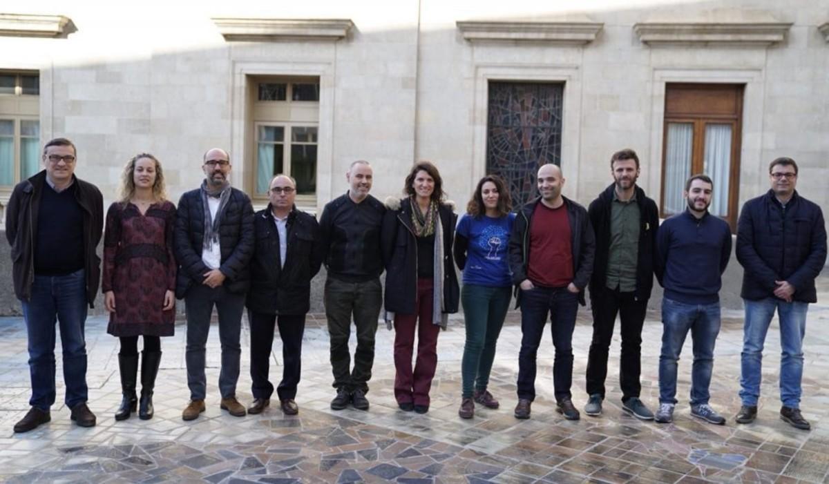 Reunión constitutiva de la Asociación Catalana de Municipios y Entidades para la Gestión Pública del Agua (AMAP).