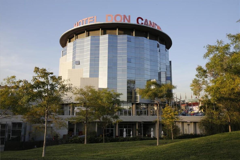 El Hotel Don Cándido, en Terrassa.