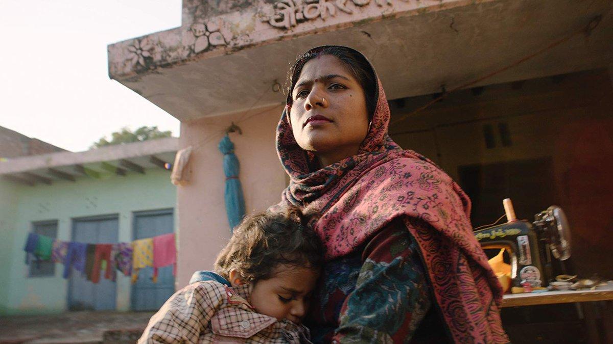 Imagen del oscarizado documental 'Period' (Netflix), que aborda el tabú de la menstuacción en la India.