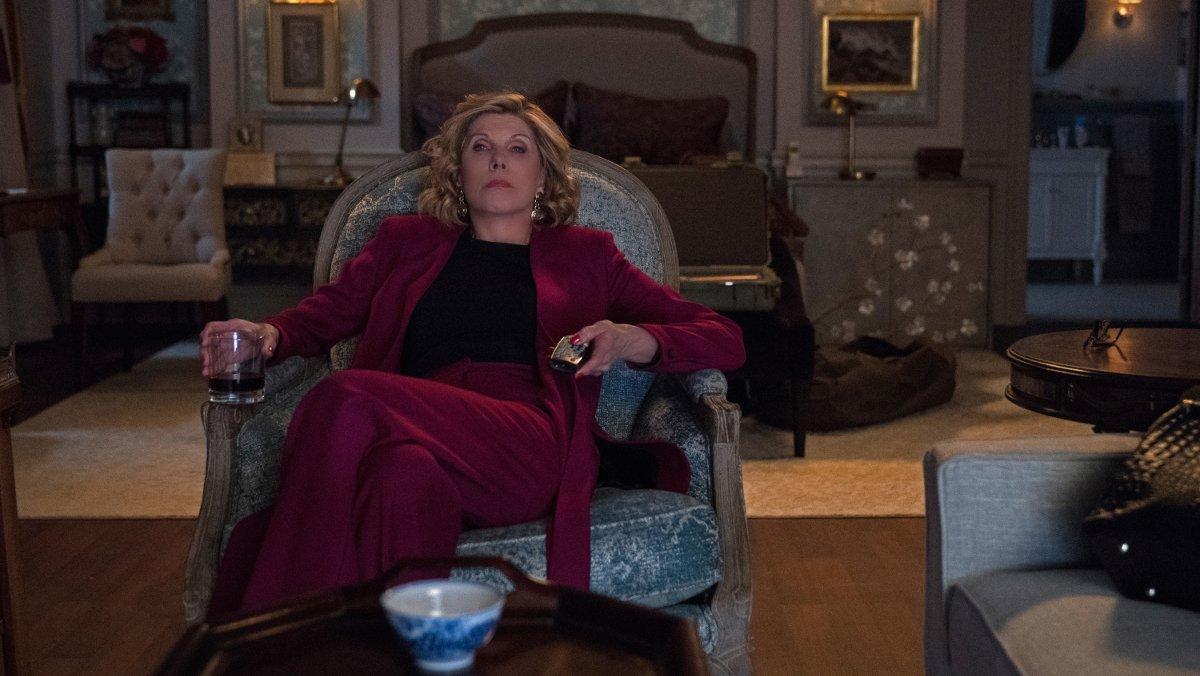 Christine Baranski, como Diane Lockhart, en la tercera temporada de 'The good fight'.