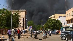 Ha habidouna explosión cerca de la sede de las fuerzas armadas de Burkina Faso y del centro cultural francés.