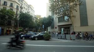 El instituto Jaume Balmes de Barcelona.
