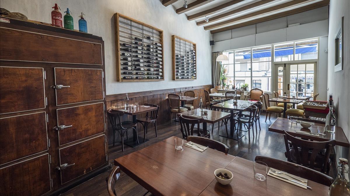Interior del restaurente Mala Hierba, ganador en la sección de Calidad Gastronómica