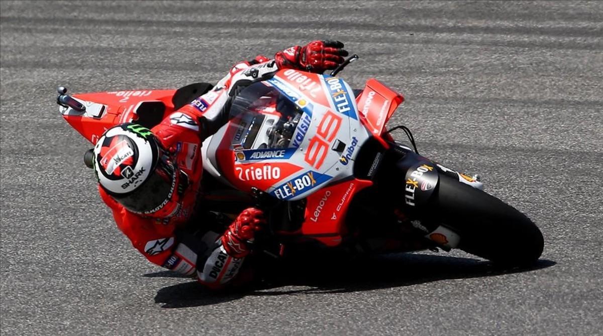 Jorge Lorenzo se ha reivindicado en el circuito de Mugello.