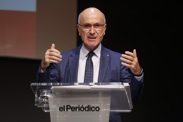 Josep Antoni Duran Lleida, en el debate de EL PERIÓDICO.