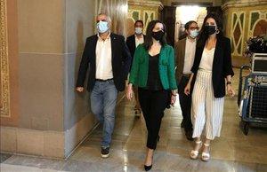 Arrimadas apel·la a l'esperit del 6 i 7 de setembre per demanar unió al constitucionalisme