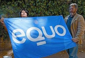 Juantxo López de Uralde, líder d'Equo, i Inés Sabanés, també dirigent d'aquest partit, dilluns passat.