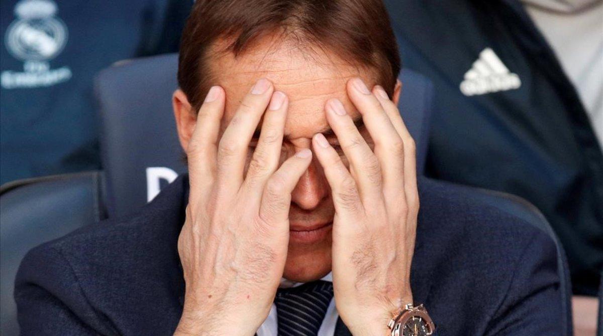 Julen Lopetegui tuvo claro, en el Camp Nou, que lo iban a despedir