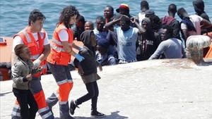 Crides desesperades a les portes d'Espanya (i d'Europa)