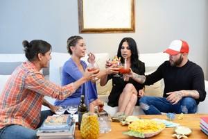 Elena Tablada organizará esta noche la primera cena de la nueva edición de 'Ven a cenar conmigo: Gourmet Edition'