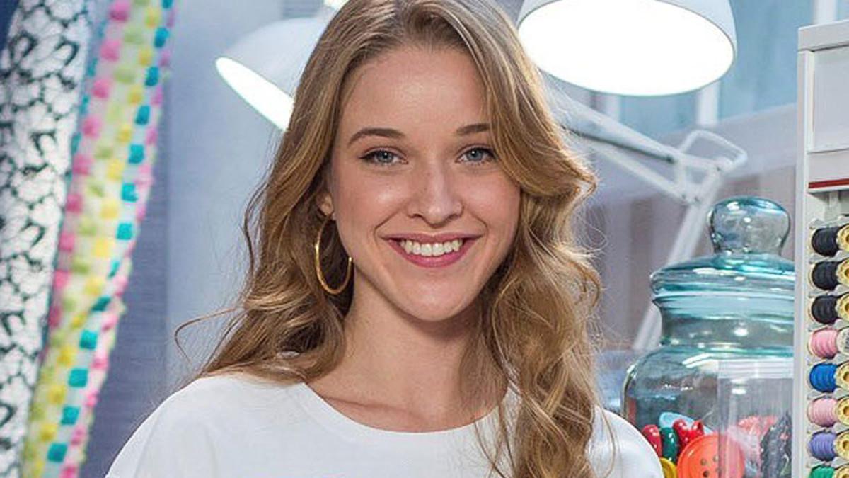 Alicia, ganadora de Maestros de la costura.