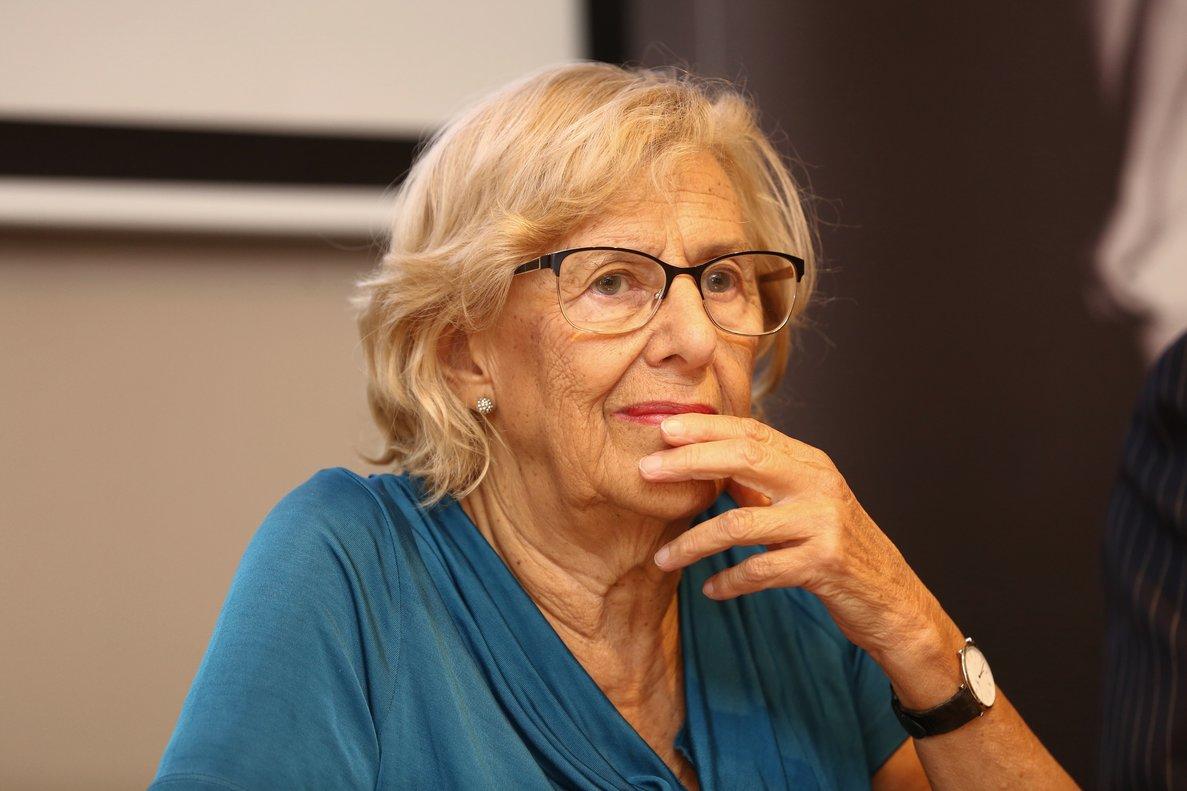 La exalcaldesa de Madrid Manuela Carmena, firmante del manifiesto.