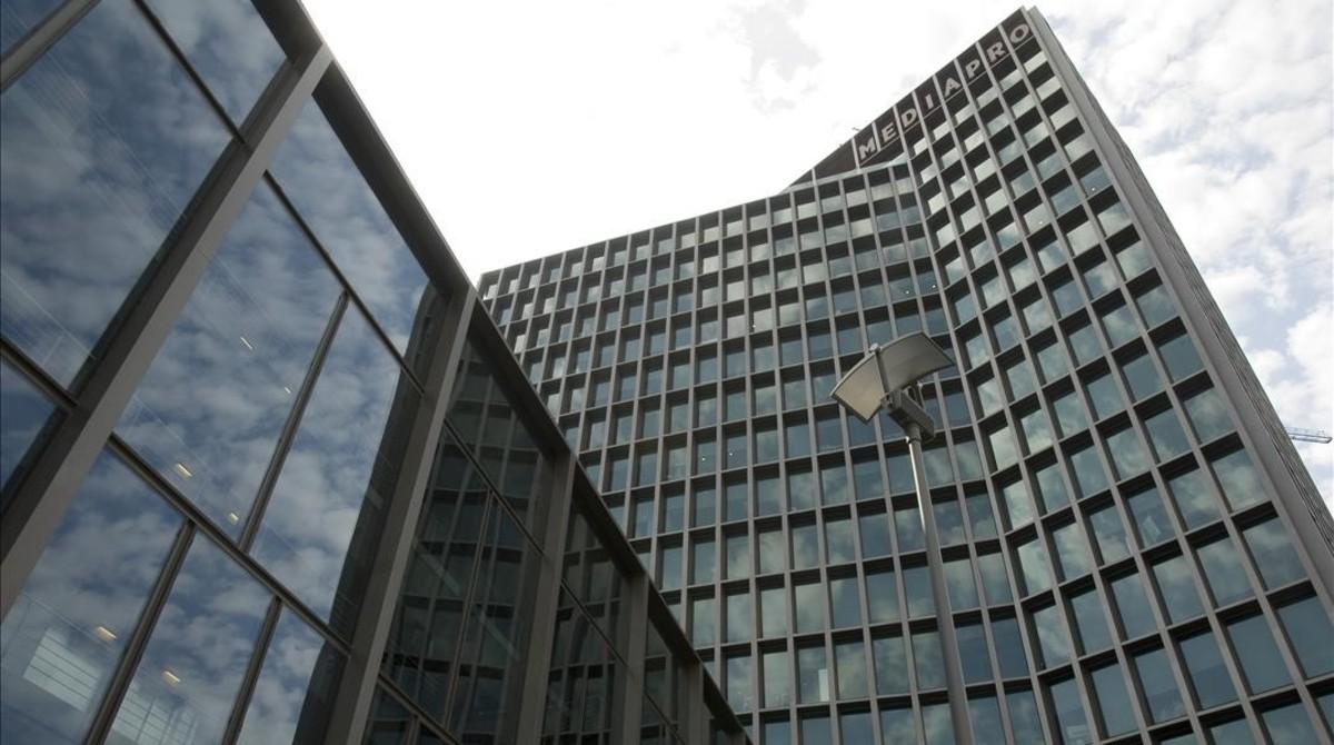 Sede central de la productora Mediapro en Barcelona.