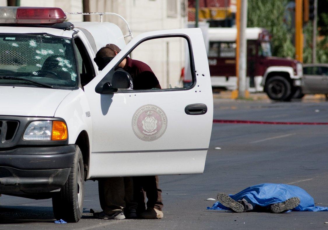 Imagen de archivo de un fallecido por un tiroteo en Ciudad Juárez en el 2010.