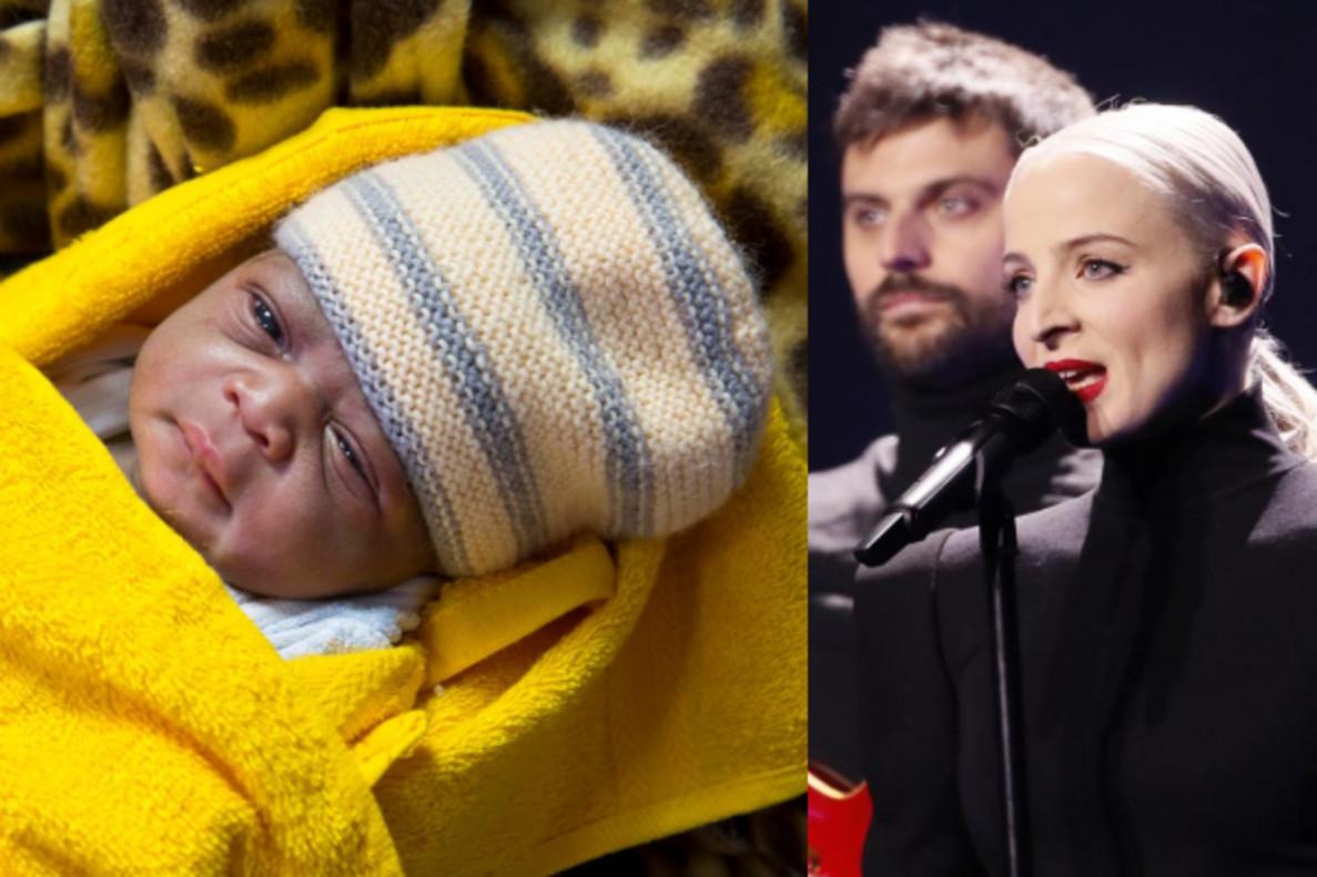 Mercy, la niña nacida en el 'Aquarius' que inspiró la canción de Francia en Eurovisión 2018