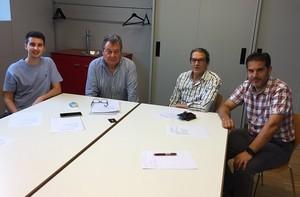 Miembros de la nueva junta de Sociedad Civil Catalana del Maresme.