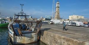 El Moll de Pescadors de la Barceloneta.
