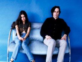 Hope Sandoval y David Roback, del grupo Mazzy Star