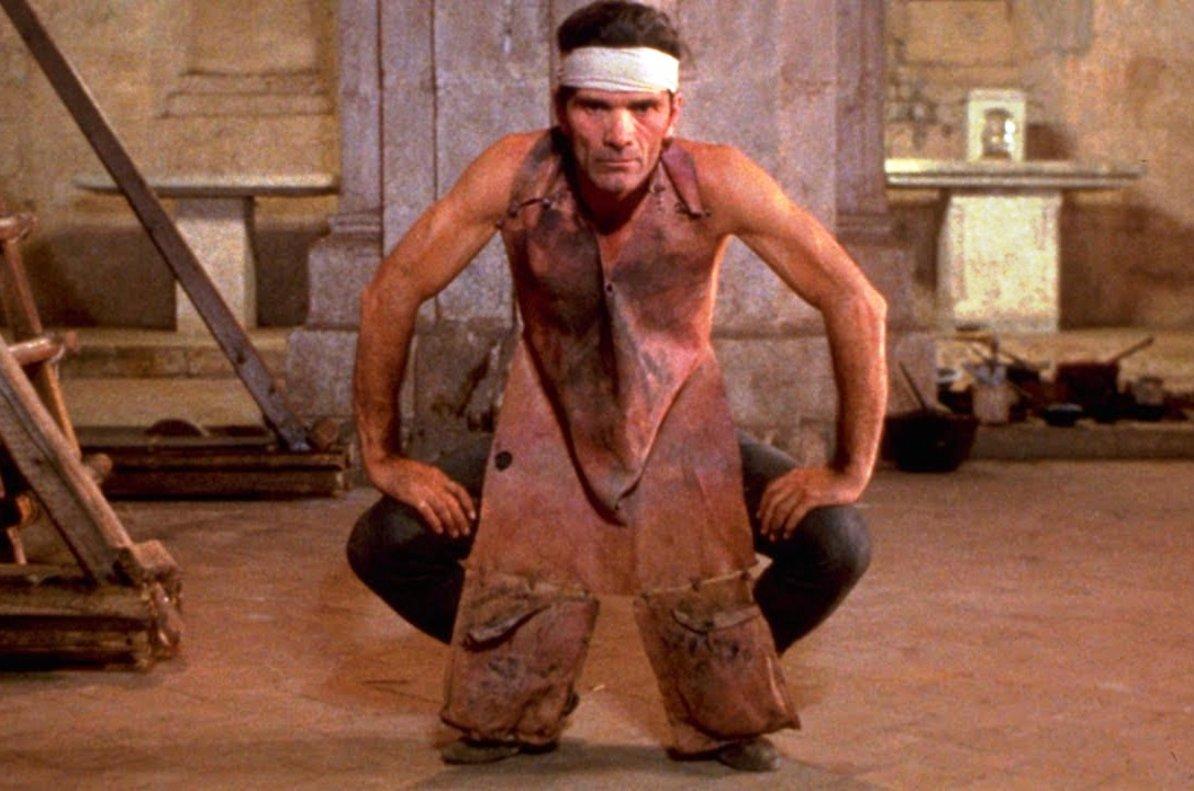 Pier Paolo Pasolini, en una escena del 'Decamerón'.