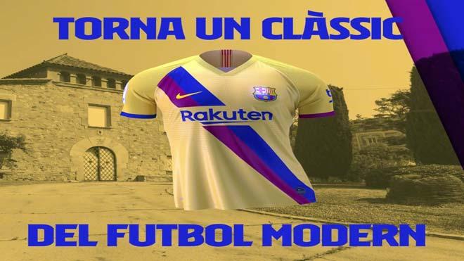 El Barcelona presenta la seva segona samarreta