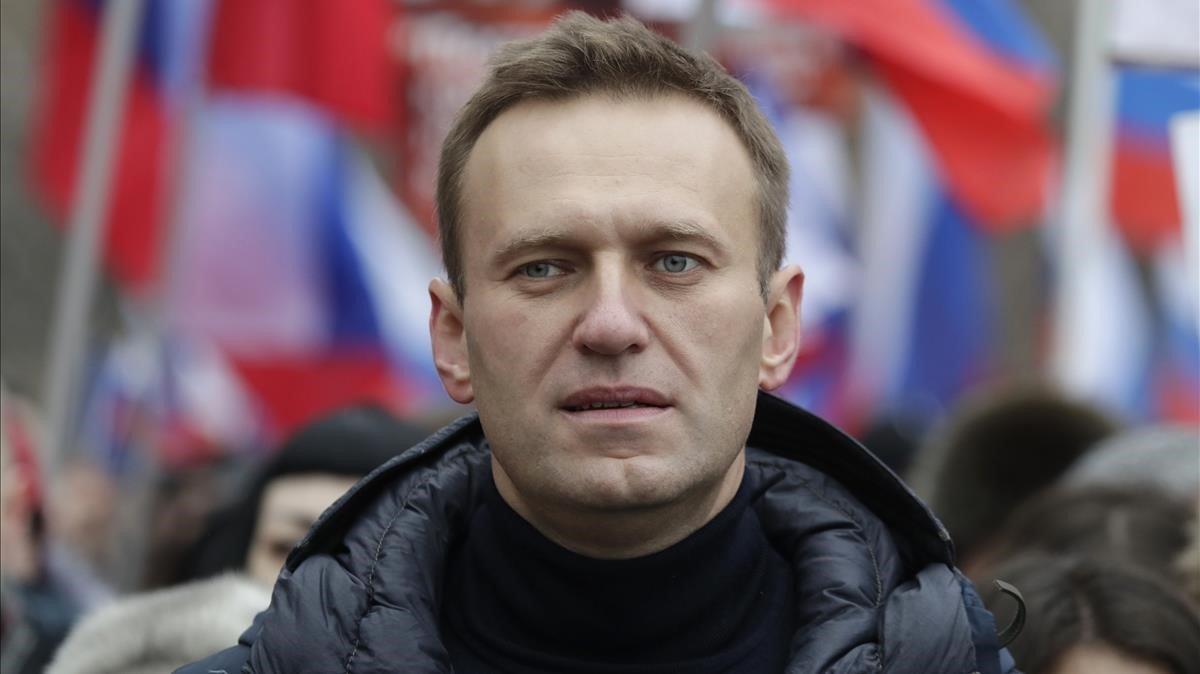 El opositor ruso Alekséi Navalny, en una imagen de archivo.