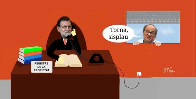 L'humor gràfic de Juan Carlos Ortega del 17 de Desembre del 2018