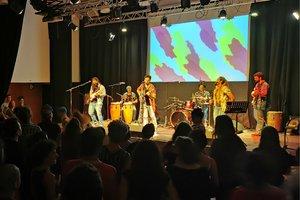 Ambiente en el Centre CulturalAlbareda durante un concierto.